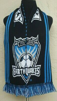 best authentic bd745 f7aa2 San Jose Earthquakes Soccer Scarf - MLS Soccer Scarf