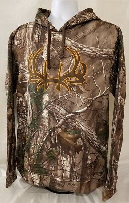 db8e5304af2a Cinch Outdoor REALTREE camo pullover hoodie hooded sweatshirt. mens size XL