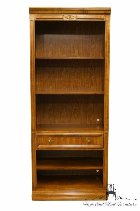 """BERNHARDT Country French 32"""" Wall Unit Bookcase 251-800"""
