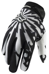 Fox-Dirtpaw-Camplosion-Mountain-Biking-Gloves-Black-White-Size-M-Brand-New