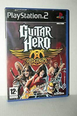 GUITAR HERO AEROSMITH GIOCO USATO PS2 VERSIONE ITALIANA GD1 36439