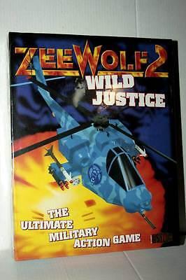 ZEE WOLF 2 WILD JUSTICE GIOCO NUOVO SIGILLATO AMIGA EDIZIONE INGLESE FR1...
