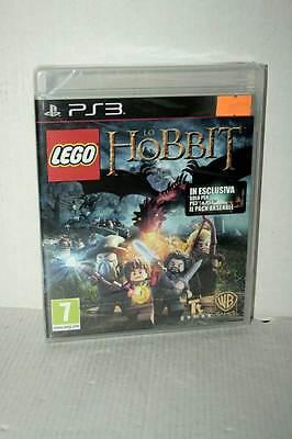 LEGO DIE HOBBIT SPIEL NEU VERSIEGELT SONY PS3 ITALIENISCHE AUSGABE PAL VBC 32934 ()