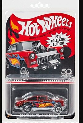 2018 Hot Wheels 2018 Kmart Mail In 55 Chevy Bel Air Gasser New Mint PREORDER