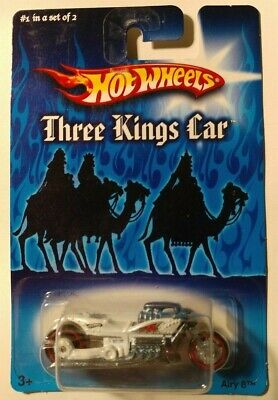 2007 Hot Wheels ~ Airy 8 ~ Three Kings ~ 1 of 2 ~ White