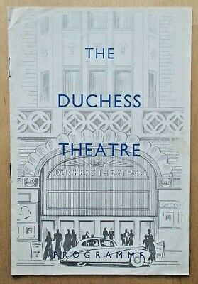 The Return programme Duchess Theatre 1954 (4/1) Ernest Jay Enid Lindsey