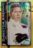 Director Krennic. Carta Edición Limitada. Star Wars, Rogue One. - rogue - ebay.es