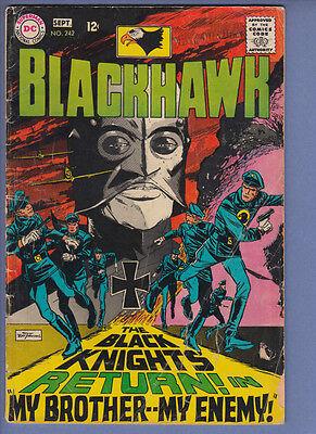 Blackhawk 242 VG (1968) DC Comic