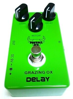 """METAL OX, OXP-103 """"Grazing Ox"""" Analog Delay Guitar Effect Pedal"""