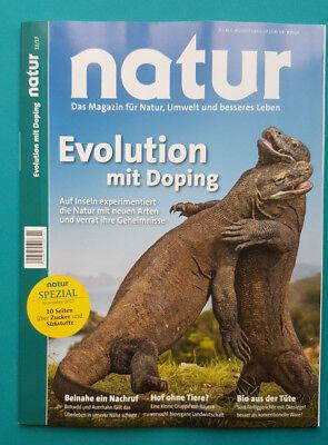 natur das Magazin für Natur,Umwelt und besseres Leben 11/17 ungelesen 1A abs.TOP