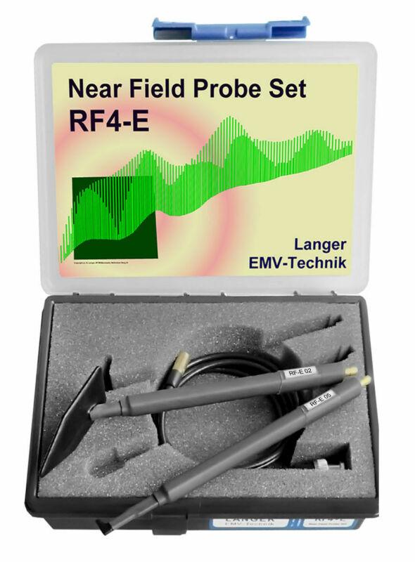 Langer EMV RF4-E Set Near-Field Probes E-Field 30 MHz up to 3 GHz EMC Tools