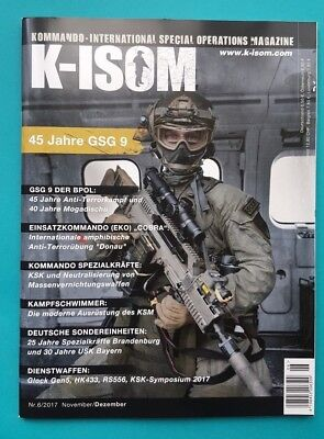 K-Isom Special Operations Magazin Nr.6/2017 Nov./Dez. ungelesen 1A absolut TOP