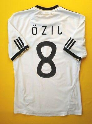 271721ead5 4.4 5 Ozil Germany soccer jersey small 2010 2012 shirt P41477 Adidas ig93