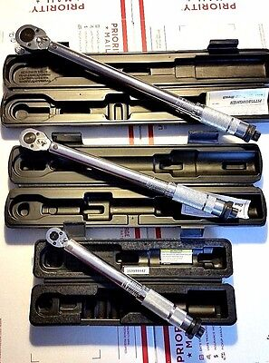 1/4 3/8 1/2 Drive Click Type Torque Wrench Snap Socket Set Torque Wrench Set