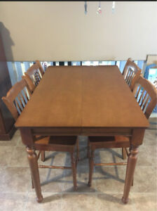 Counter Height Kitchen Table with 4 Chairs