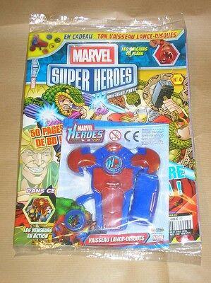 Magazine Marvel Super Heroes N°4 / Neuf Sous Cello Avec Son Cadeau