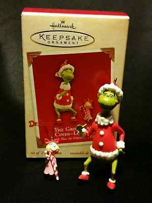 * 2003 *  GRINCH AND CINDY-LOU Hallmark  DR SEUSS  Ornament New