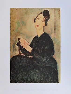 Amedeo Modigliani Ritratto Di Dedie Poster Kunstdruck Bild 70x50cm