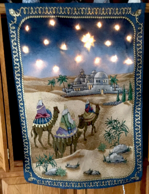 Illuminated Lighted Wall Hanging (And it Came to Pass )