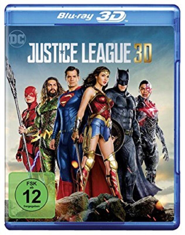 Justice League 3D Blu-ray Der Kinofilm 2017 NEU OVP DC Universe
