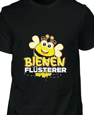 Freund Lustige T-shirt (T Shirt Bienen Flüsterer lustig Spruch Geschenk Mann Freund Bruder)