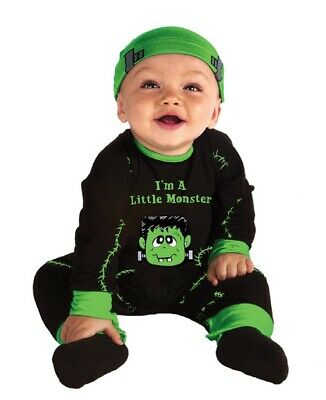 Lil' Monster Infant, baby, Costume, 0-6 months, Halloween - Green Monster Halloween Costume