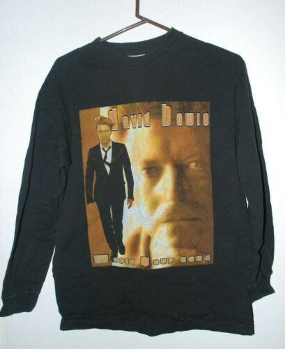 David Bowie 2004 Tour long sleeve t shirt Med.