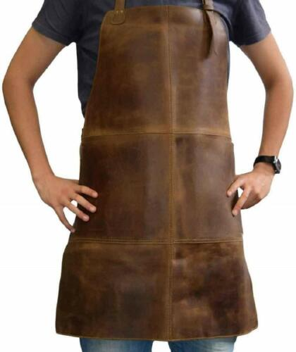 Chef/Butcher/Metalworker/Carpenter/Blacksmith/Heavy Duty, Handmade Leather Apron
