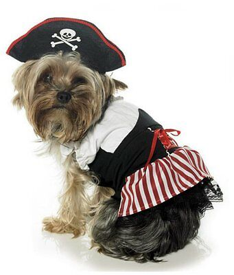 IAL Leg Avenue Pirate Puppy Piratin Pirat Kostüm für Hunde Hundekostüm XS ()