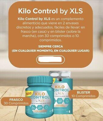 XLS KILO CONTROL 30 COMPRIMIDOS + PACK 10 COMPRIMIDOS