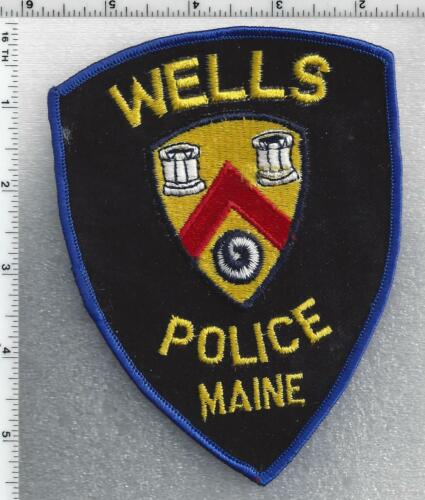 Wells Police (Maine) 1st Issue Shoulder Patch