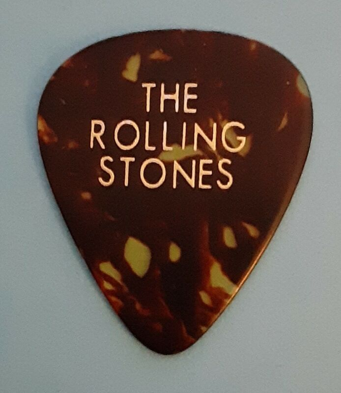 Rolling Stones ~ 1998 Bridges To Babylon Tour Guitar Pick ~ Authentic & Rare