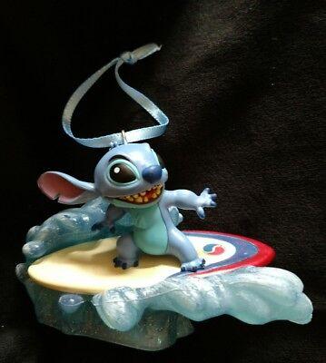 New Disney Lilo and Stitch Surfing Stitch Christmas Ornament
