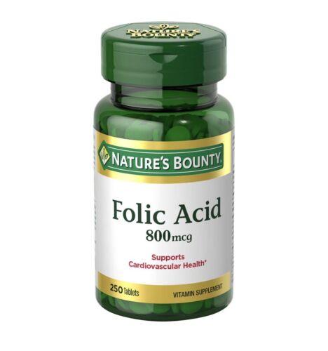 #1 Mejores Pastillas Acido Folico Natural Para Niños Hombres Mujeres Embarazadas