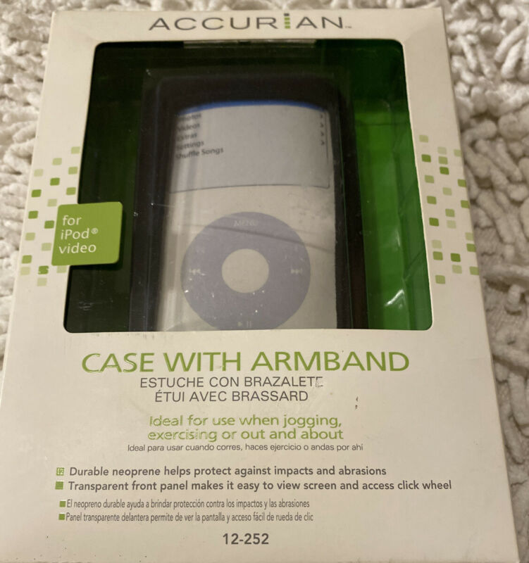 ACCURIAN For iPod Video Case ARMBAND Durable Neoprene Help Protect 4 Exercising