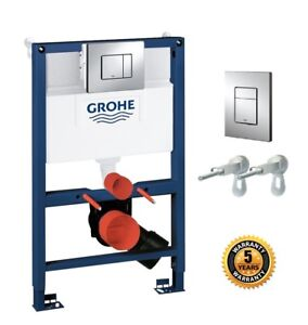 GROHE 38773000 Frame Rapid Sl 3 - 1 Set Wall-Hung Toilet 0.82 m wall-Flush Plate