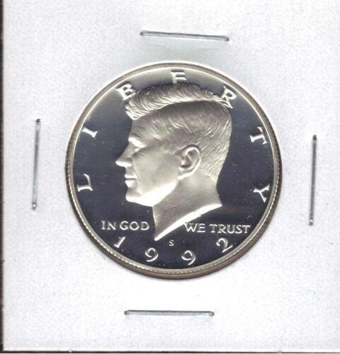 1992-S PROOF KENNEDY HALF DOLLAR
