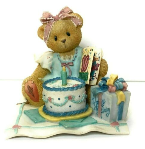 Cherished Teddies 302643 Sixteen Candles and Many More Wishes - Birthday Girl