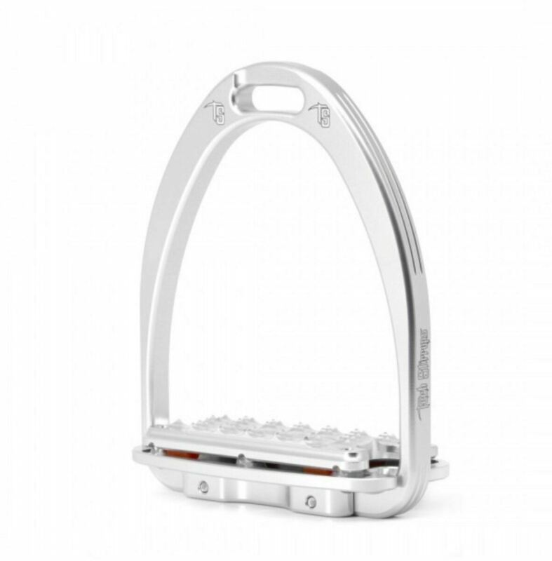 Tech Siena Plus Stirrups - Silver