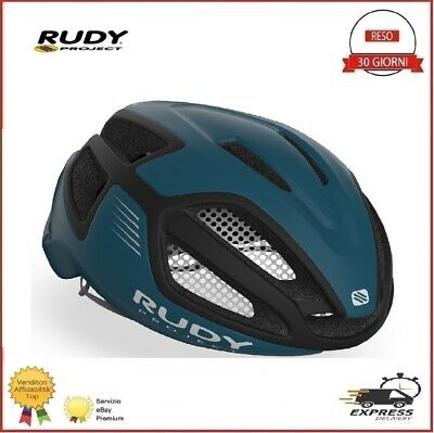 Casco Bici RUDY PROJECT Spectrum Ciclismo Carreras MTB Pacific Blue Negro M