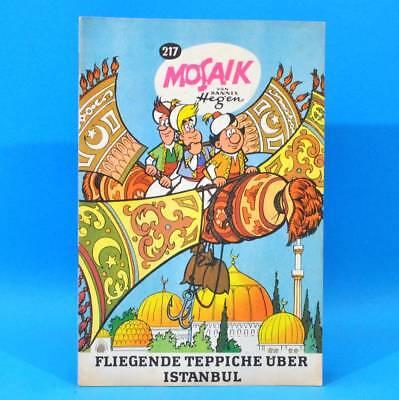 Mosaik 217 Digedags Hannes Hegen Originalheft | DDR | Sammlung original MZ 41