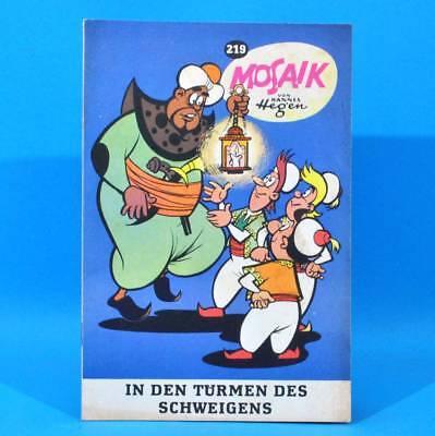 Mosaik 219 Digedags Hannes Hegen Originalheft | DDR | Sammlung original MZ 29