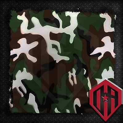 Hydrographic Water Transfer Hydrodip Film Hydrodip Camo Camouflage Print 1 Sq M