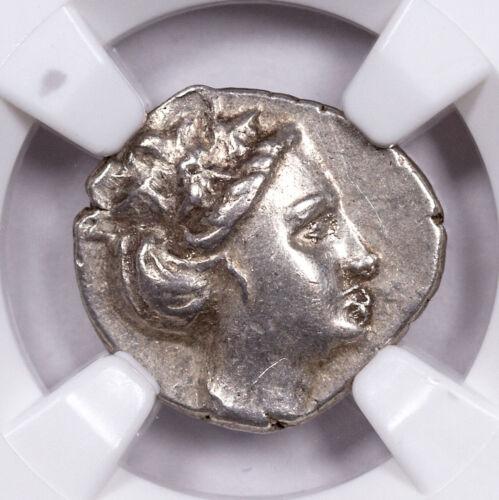 Greek Island Euboea Histiaea Silver Tetrobol 3rd-2nd Cent BC NGC Ch XF SKU53779