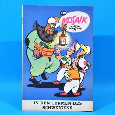 Mosaik 219 Digedags Hannes Hegen Originalheft | DDR | Sammlung original MZ 6
