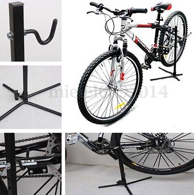 Heavy Duty Bicycle Workstand Adjustable Bike Cycle Repair Stand Maintenance Rack