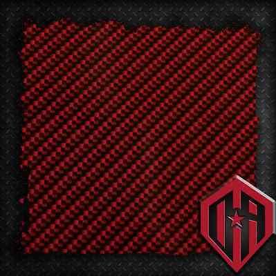 HYDROGRAPHIC WATER TRANSFER HYDRODIP FILM HYDRO DIP RED CARBON FIBER CF 1 SQ M