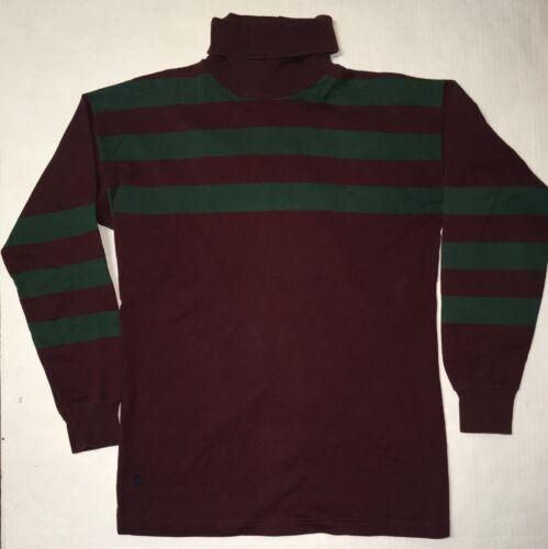 Ralph Lauren vtg turtleneck stripe Large RL Polo r