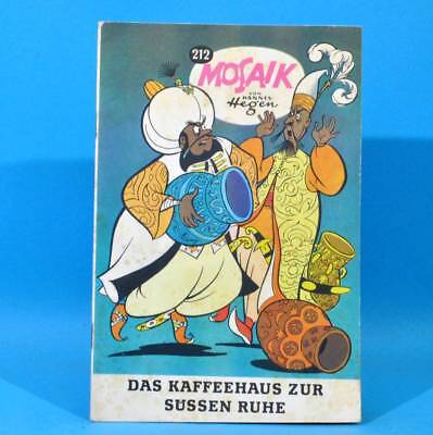 Mosaik 212 Digedags Hannes Hegen Originalheft | DDR | Sammlung original MZ 9