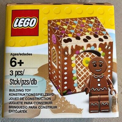 LEGO 5005156 GINGERBREAD MAN in a BOX Minifigure Christmas Building Toy  Gingerbread Man Box
